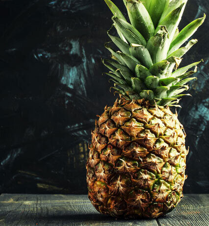 the mighty pineapple: a tropical trend